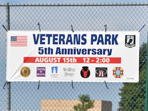 5th Anniversary Ceremony North St. Paul Veterans Park photos