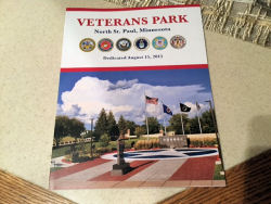 The History of Veterans Park Book